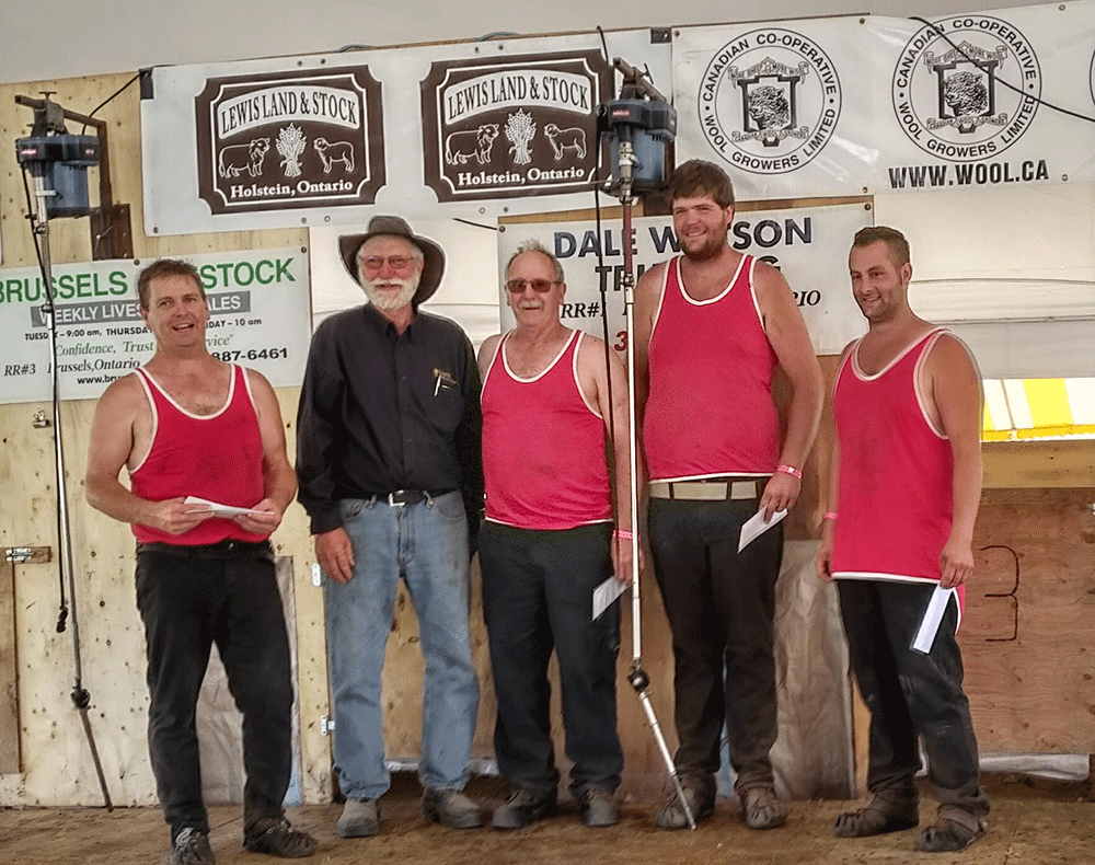 7th Annual Eastern Canadian Sheep Shearing Competition