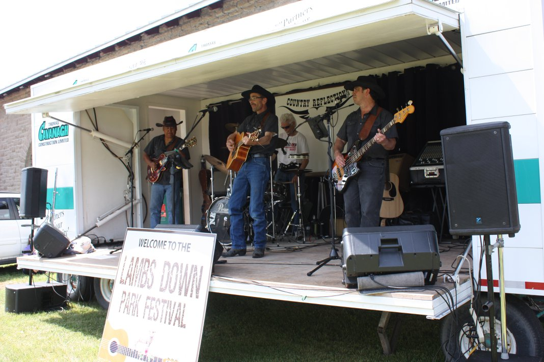 Live music at Lambs Down Park Fesival 2018